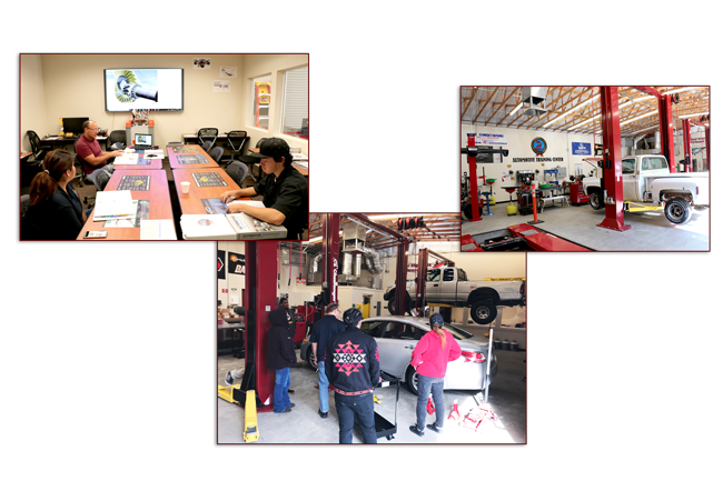 tanf automotive program collage